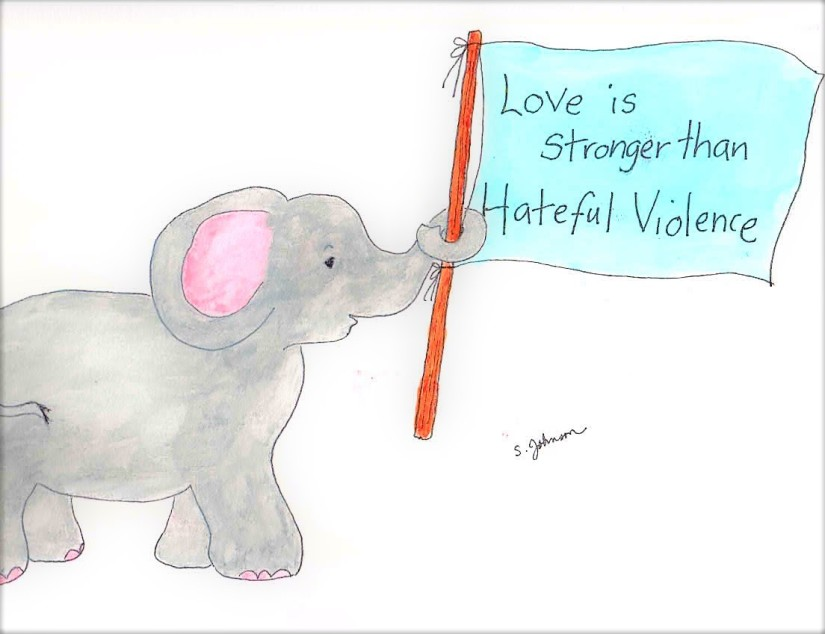 Love is Stronger Than Hateful Violence
